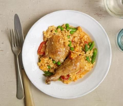 One pot chicken with rice