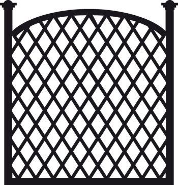 Marianne Design Craftable Trellis panel (Babs)