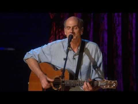 You Can Close Your Eyes - James Taylor.  I sang this song to both of 2 kids every night for 4 years each.  Now my son plays it as part of his set list.  I cry almost every time he plays it...