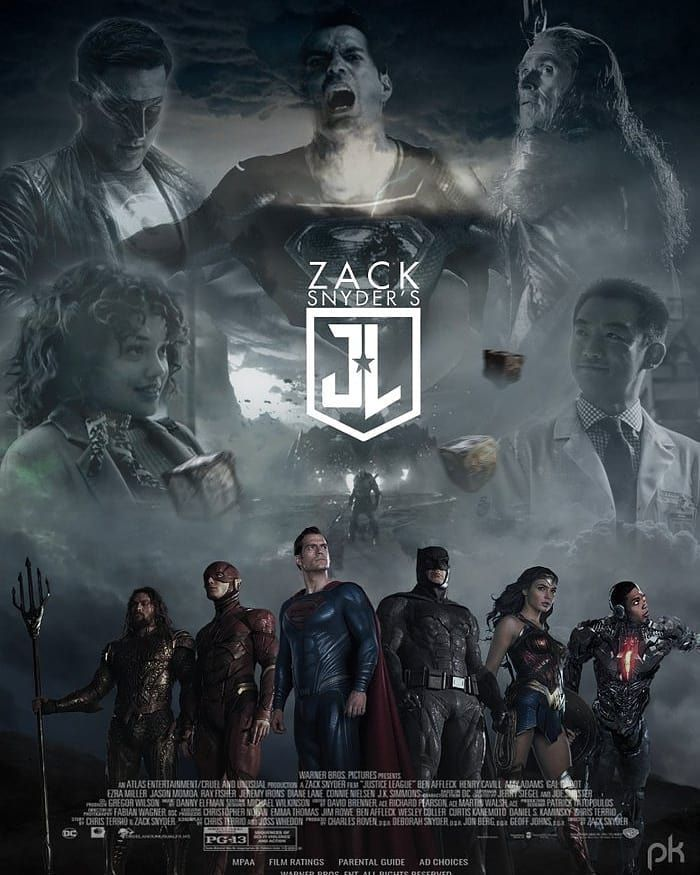 Poula Essam Kerlos Essam บน Instagram Check Out Our New Poster For Zack Snyder S Justice Le Justice League Comics Justice League Justice League Poster 2017
