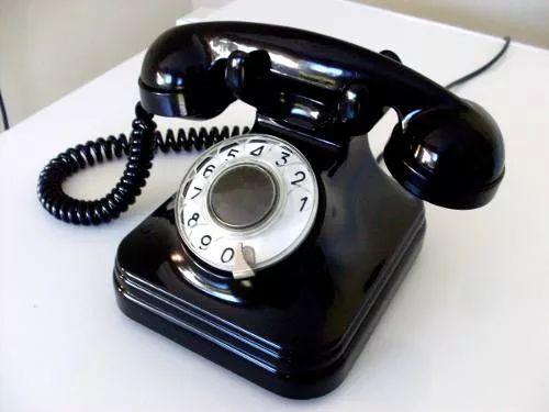 telefone antigo de disco standard electric anos 50/60