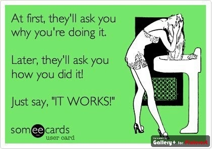 It Works! - #itWorks! – ItWorks! Yes! I love that CRAZY WRAP THING!!  http://captureyourbody.myitworks.com
