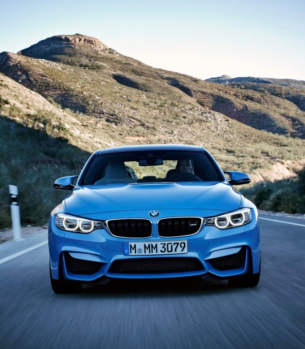 BMW 'wow' the crowds at Detroit! We take a closer look at the 2015 #BMW M3 sedan and M4 coupe. Watch the exclusive video review...click on the image #autoawesome