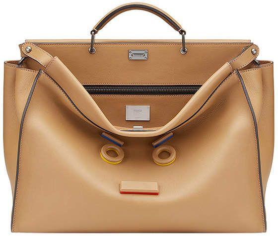 c7ccb65655cf Fendi Peekaboo Fit tote bags