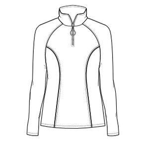 Ofrecemos patrones moldes ropa para bebes, chicos, chicas y uniformes Polera  805 DAMA Buzos