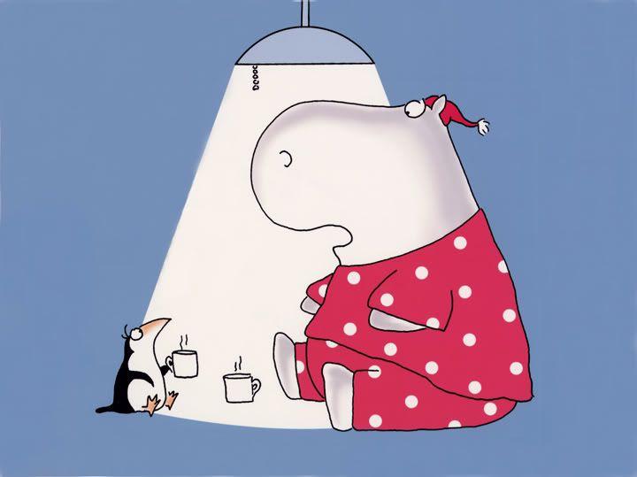 Sandra Boyton: Mmm...hot cocoa!   #Cartoon #Sandra_Boyton
