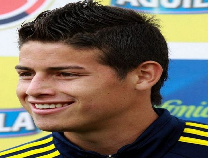 James Rodriguez Hairstyles 2015