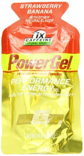 PowerBar PowerGel, Strawberry Banana, 1x Caffeine, 1.44-Ounce Packets (Pack of 24) | Multicityhealth.com List Price: $22.99 Discount: $0.00 Sale Price: $22.99