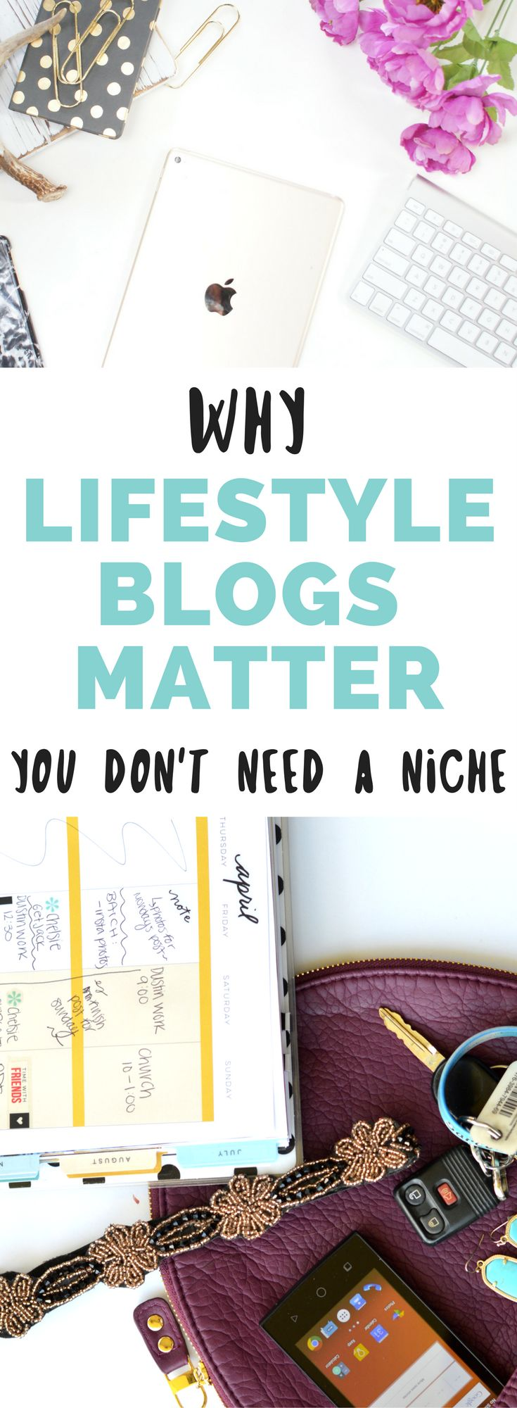 Do you need to have a niche to be a successful blogger? No! Here's why lifestyle blogs matter and why you should start a lifestyle blog // Hey There, Chelsie