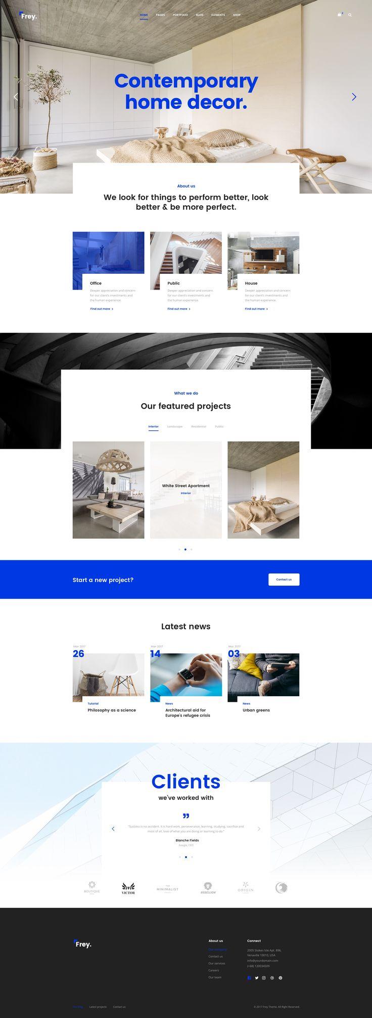 architecture portfolio templates