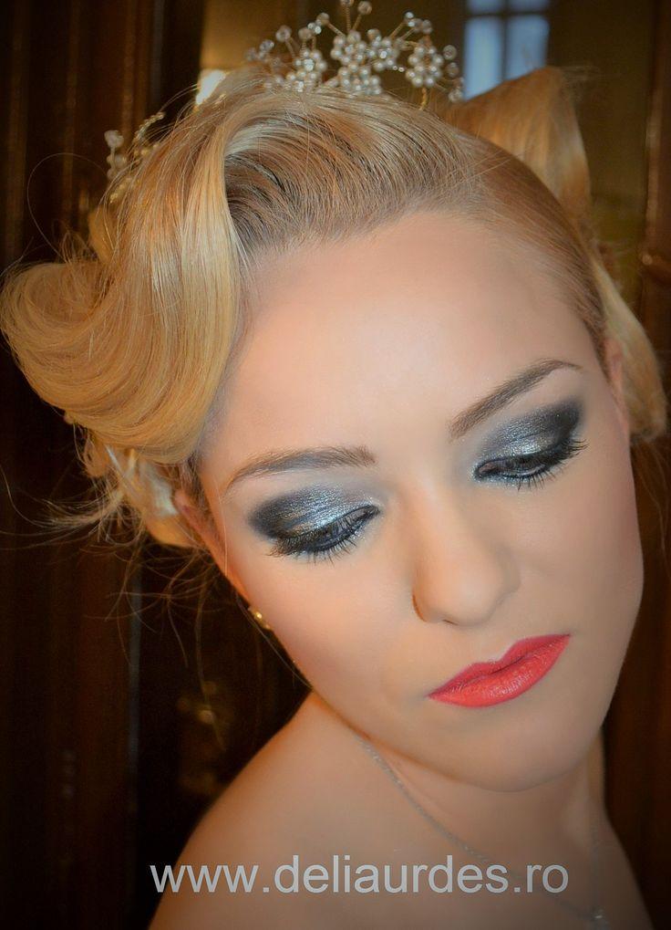 Hair&Make-Up;Delia Urdes
