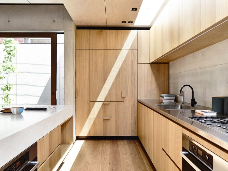 Kitchen Design Idea   10 Inspirational Examples Of Kitchens With Integrated  Fridges // Wooden Cabinetry In This Kitchen Hides The The Fridge And Makes  This ...