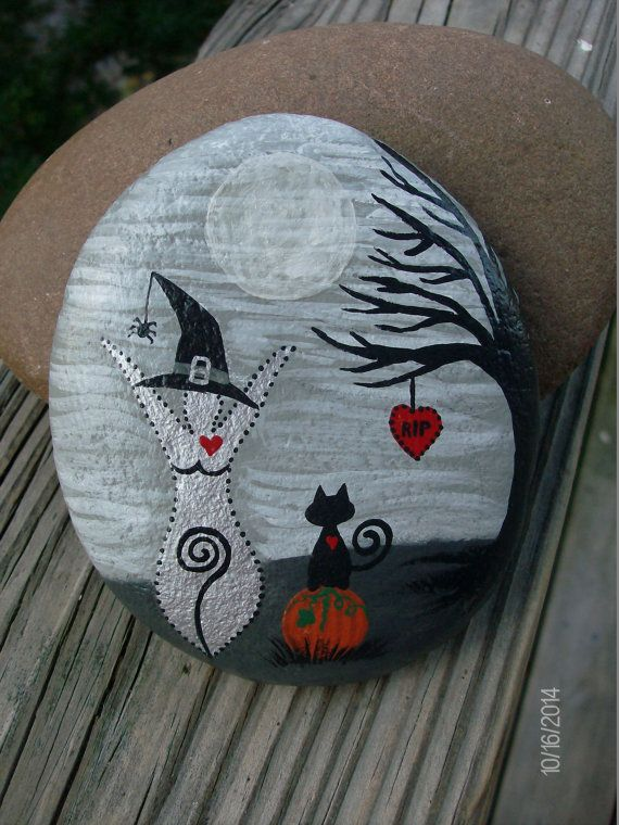MADE-TO-ORDER STONES will vary in shape and size from the above photos. Due to the shape and size of the stone as well as the hand-painting,