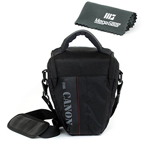 MegaGear ''Ultra Light'' Professional Camera Case Bag for Canon EOS 70D Canon Rebel T4i Canon EOS Rebel T5 Rebel T5i T6i T6s Rebel SL1 with Lens