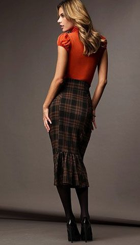 38 best images about Brown Plaid Skirt Outfit on Pinterest | Dark ...
