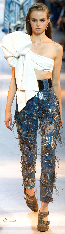Roberto Cavalli Spring 2016 RTW women fashion outfit clothing style apparel @roressclothes closet ideas