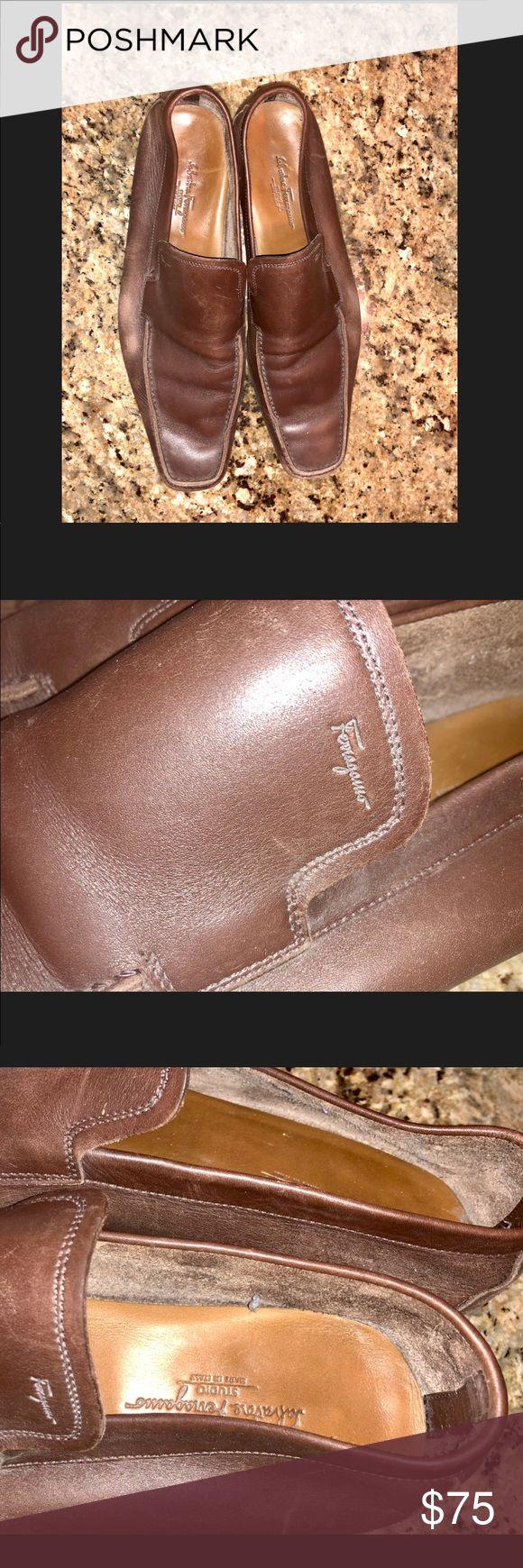 Men's Ferragamo Brown Loafers Men's US Size 10 Men's Salvatore Ferragamo Brown Loafers Men's US Size 10 Condition: Pre-owned / Used Salvatore Ferragamo Shoes Loafers & Slip-Ons