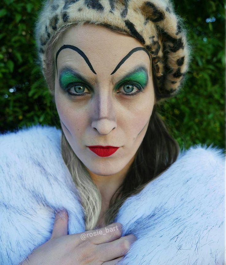 ~We lose more women to marriage than war, famine and disease!~ Cruella De Vil (@rosie_bart) on Instagram #cruella #101dalmatians #disney  #villain #halloween #facepaint #cosplay