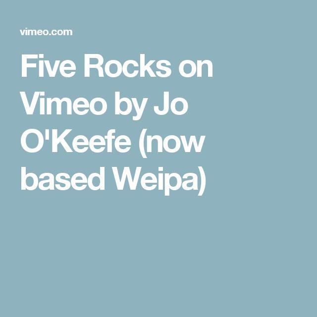 Five Rocks on Vimeo by Jo O'Keefe (now based Weipa)