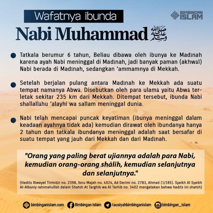 wafatnya ibu nabi sallallahu 'alaihi wa sallam...