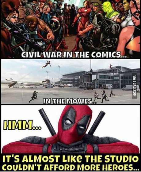 This is Deadpool being Deadpool