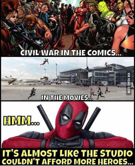 This is Deadpool being Deadpool