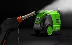 Car steam cleaning engine