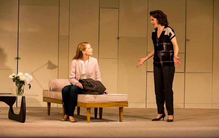 Sophie Robinson and Fiona Bell in The Father by Florian Zeller in a translation by Christopher Hampton.  Picture by Pat Redmond