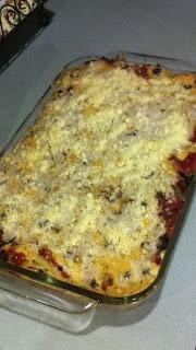 Baked spaghetti- Trisha Yearwood recipe