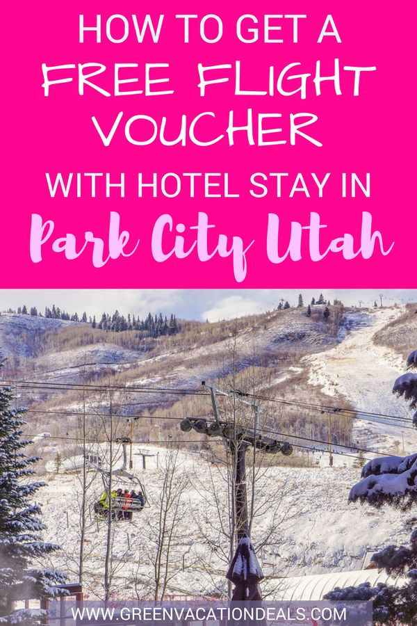 Park City Utah Travel Tip - Find out how to get a Free Flight Voucher with your Park City Utah hotel stay! Find out which Park City hotel has a vacation package deal that will give you a free flight voucher. Must read when doing Park City vacation planning. #Flight #Voucher #ParkCity #Utah #Hotel #Delta #SaltLakeCity #Ski #Skiing #SkiSeason #HotelDeal #TravelDeal #Travel #SkiTrip #SkiHoliday #SkiVacation #ParkCityUtah #skibunny #downhillskiing #Alpineskiing