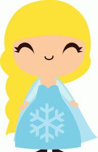 Silhouette Online Store - View Design #56204: snow princess