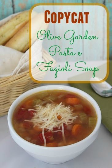 17 Best Images About Soup Recipes On Pinterest Stew Olive Garden Pasta And Cheese Potatoes