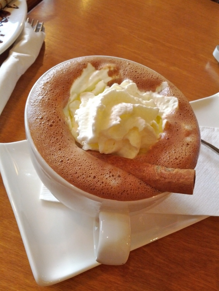 Cacao 70 - Champurrado Mexican Hot Chocolate spiced with cinnamon :P