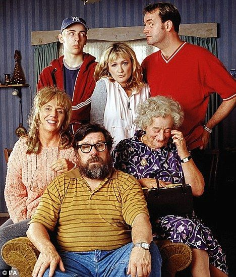 Much-loved role: Sue with the rest of the cast from The Royle Family