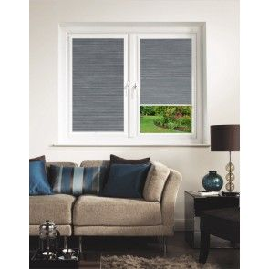 Hive Silkweave Raven Perfect Fit Pleated Blind
