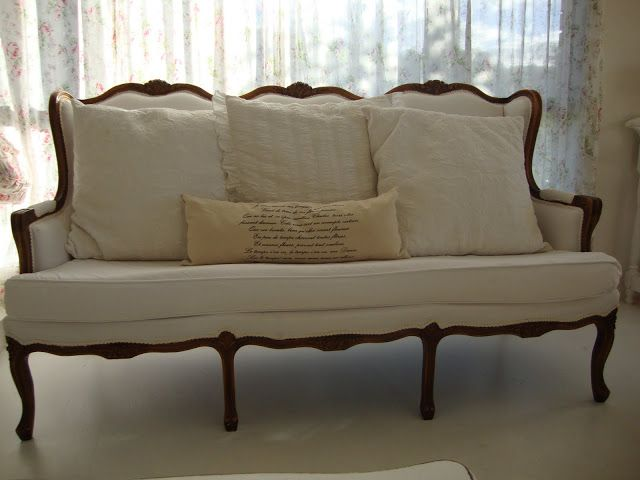 Paint Me White: French Sofa Story