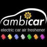 logo Ambicar, ambientador eléctrico para coche