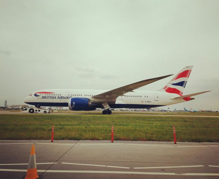 787 à boleia #787 #heathrowairport  #britishairways