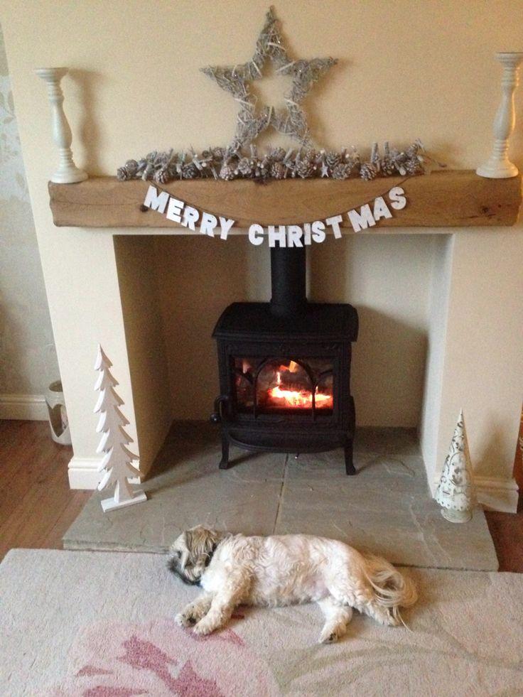 Our log burner xxx ❤️