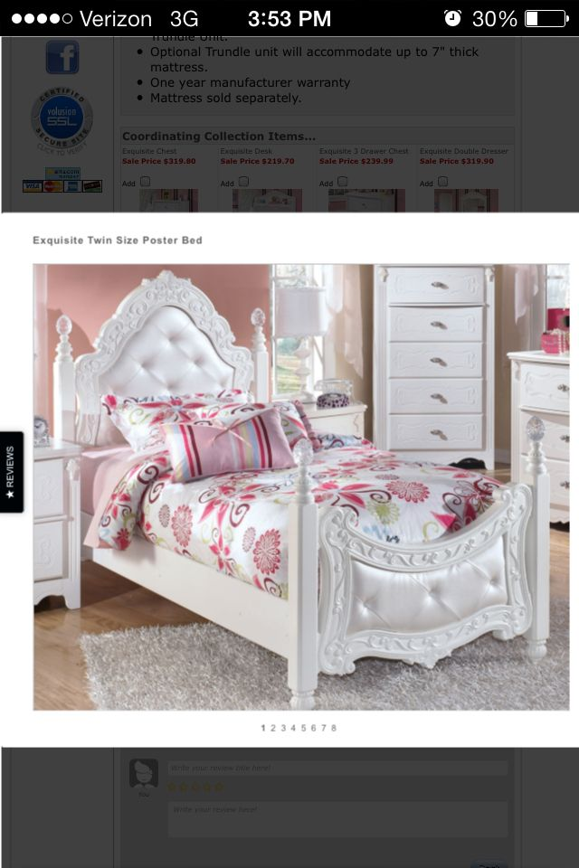 Gorgeousness Ashley Furniture Twin Princess Bed Girls