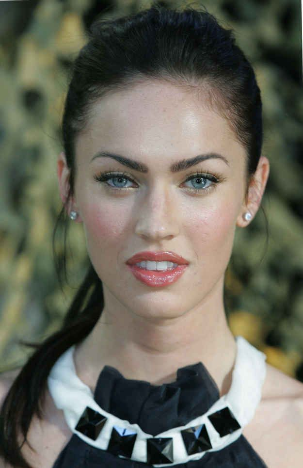 2007 - Megan Fox's Ever-Changing Face Through The Years