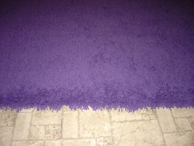 purple shag rugs