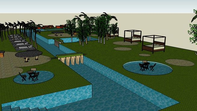 Free download sketchup components 3d warehouse pool for Pool drawing software