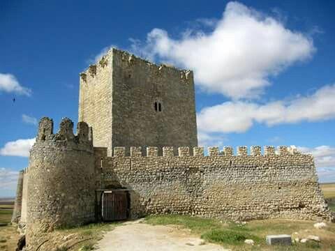Castillo de Tiedra.Valladolid