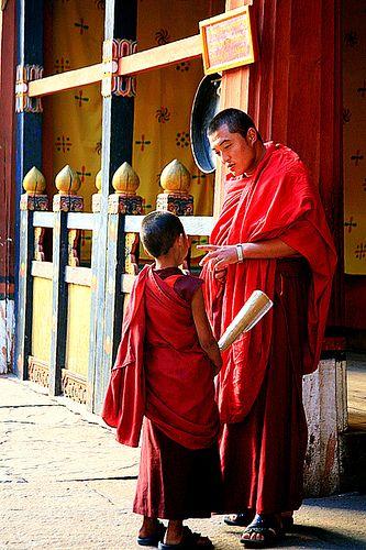 The Teacher . Bhutan