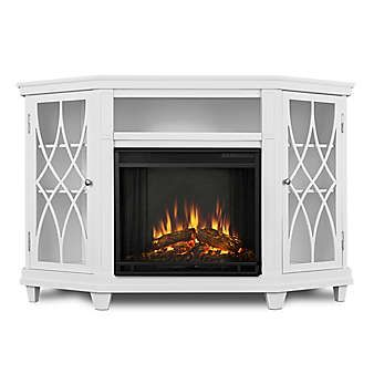 Real Flame Lynette Electric Fireplace And Entertainment Center