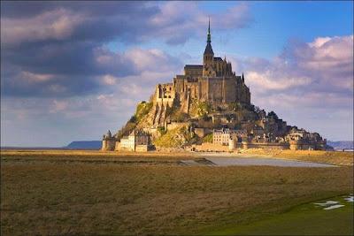 Mont Saint-Michel, Normandy, France.
