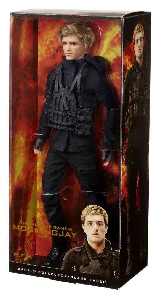 The Hunger Games: Mockingjay Part 2 - Peeta Mellark Collector Doll