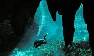 Cavern Diving with Dive Cenotes Mexico, cavern guiding and training, Riviera Maya, Mexico