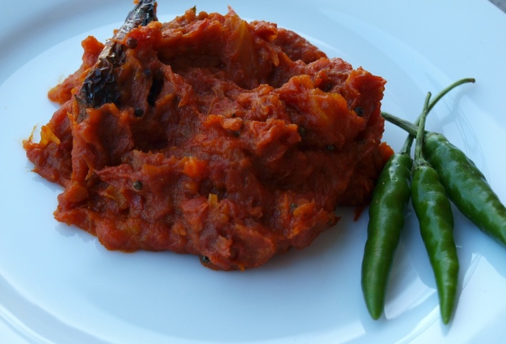 Hot And Spicy Tomato Chutney (Takkalipayam Chatni) Recipe — Dishmaps